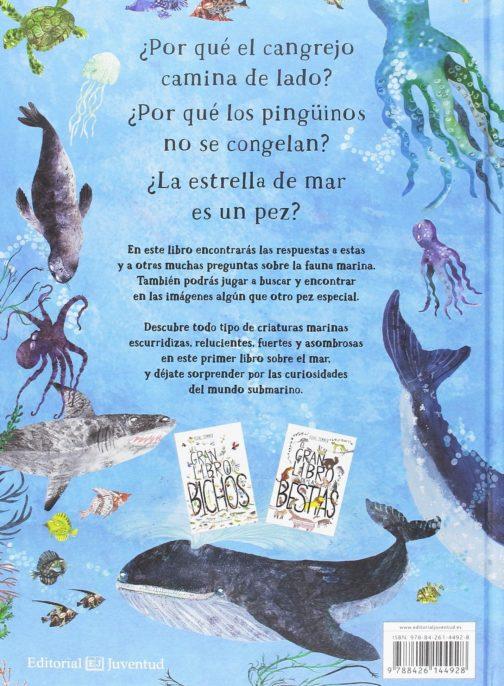 El gran libro del mar contraportada
