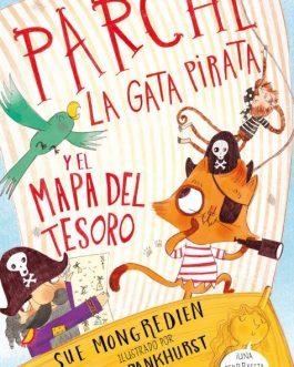 Parche, la gata pirata y el mapa del tesoro