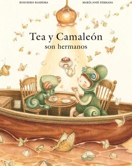 Tea y Camaleón son hermanos
