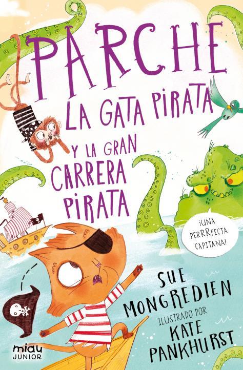 Parche la gata pirata y la gran carrera pirata
