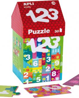 APLI Kids – Caja puzzle casita 1-2-3