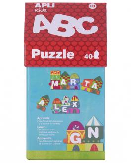APLI Kids – Caja puzzle casita ABC