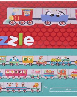 APLI Kids – Caja puzzle casita tren