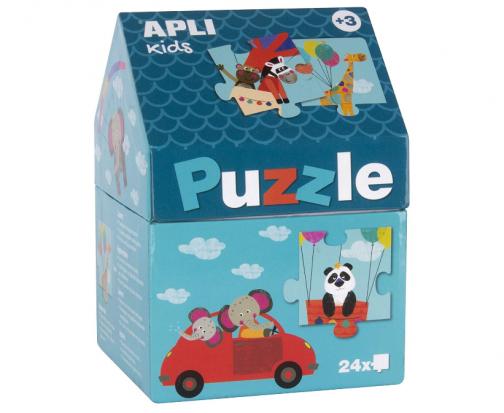 Apli kids - puzzle safari