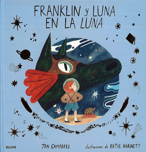 Franklin y Luna en la luna