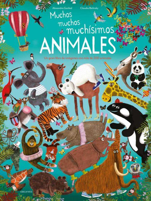 Muchos, muchos, muchísimos animales