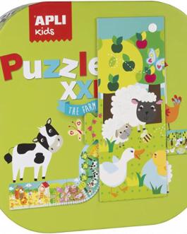 APLI Kids- Puzzle XXL La Granja