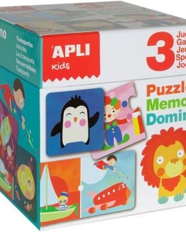 APLI Kids Puzzle, Dominó y Memory