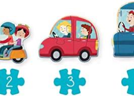 Goula – Puzzle XXL vehículos