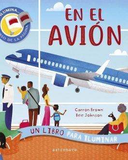 En el avión. Un Libro para iluminar