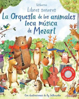 La orquesta de los animales toca musica de Mozart