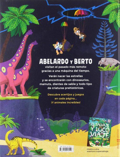 El gran salto al big bang de Abelardo y Berto contraportada
