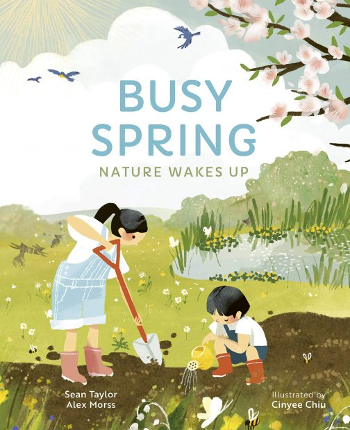Busy Spring Nature Wakes Up