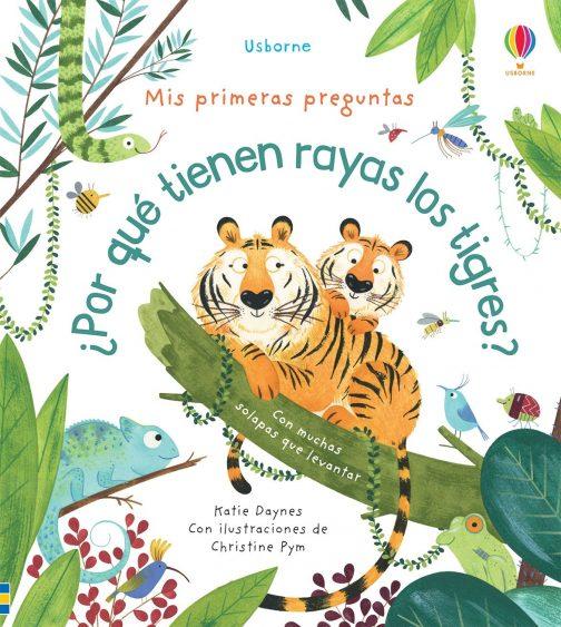Por qué tienen rayas los tigres